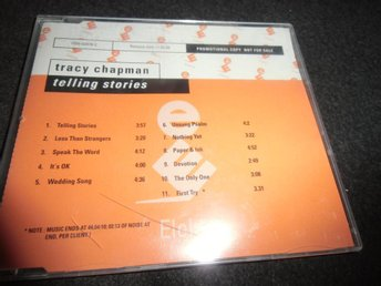 Tracy Chapman - Telling stories - Promo CD - 2000 - Ny