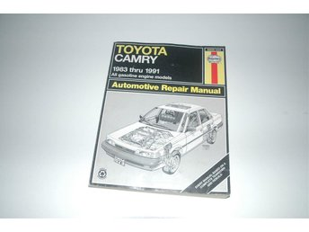 Toyota Camry 1983-1991 All gasoline engine models