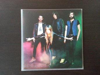 Spiders - Fraction svart vinyl 7 Graveyard Horisont