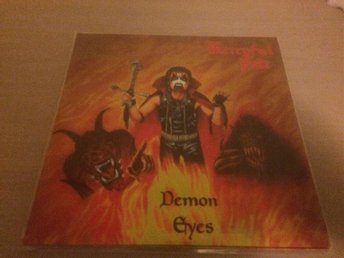 MERCYFUL FATE. DEMON EYES.D-LP. EINDHOVEN 1984. BLACK VINYLS.