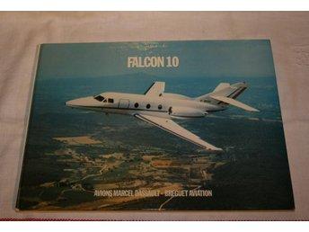 FALCON 10. BOK OM FLYGPLANET. 1974 - Stockholm - FALCON 10. BOK OM FLYGPLANET. 1974 - Stockholm