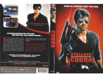 Cobra (Med Sylvester Stallone) Utgått DVD Svensk Text - Svenljunga - Cobra (Med Sylvester Stallone) Utgått DVD Svensk Text - Svenljunga
