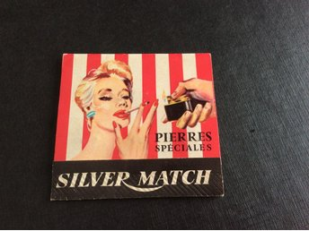 Silver Match, Tändstift.