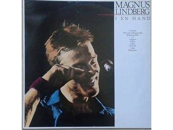 Magnus Lindberg title* I En Hand* Pop Rock LP SWE