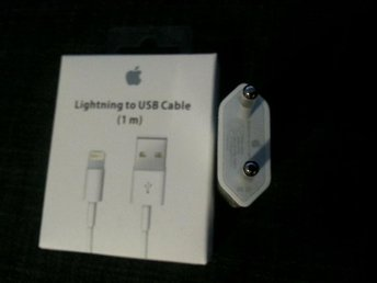 IPhone - iPad - iPod - Laddare kabel  2m/ /vägg Adapte till iPhone 5/6/7