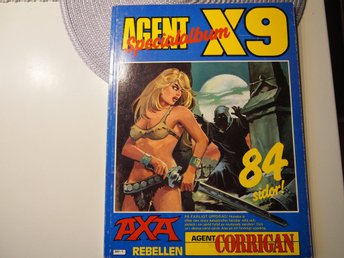 Agent X9 1986  Fint Skick FN+