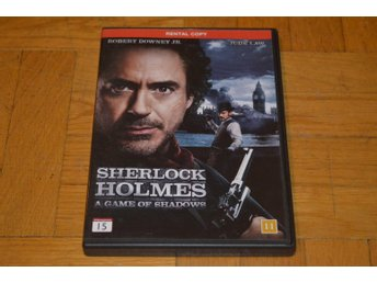Sherlock Holmes A Game Of Shadows ( Robert Downey jr Jude Law ) 2013 - DVD