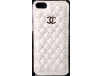 Iphone 5/5S - Quiltad - Silver / Vit