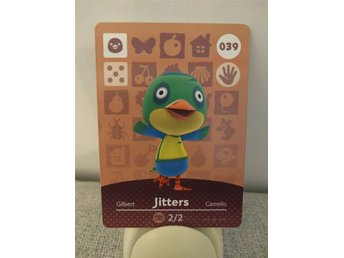Animal Crossing Amiibo Welcome Amiibo card nr 039 Jitters