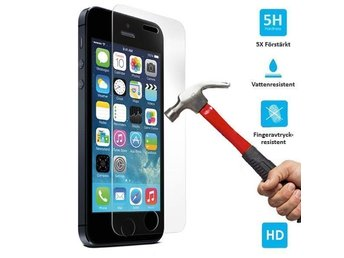 2-pack iPhone 5 / 5c / 5s / SE Tempered Glass Screen Protector  - Snabb Frakt