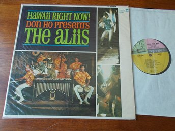 THE ALIIS - Hawaii Right Now!, LP Reprise USA 1965 med Quiet Village Exotica