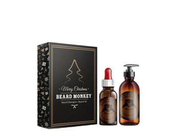 Giftset Beard Monkey Beard Shampoo 100ml + Beard Oil 50ml