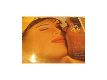 "NAT KING COLE ""RED WAX"" THE TOUCH OF YOUR LIPS CSP-1060 Vinylborsen-skivbutik"