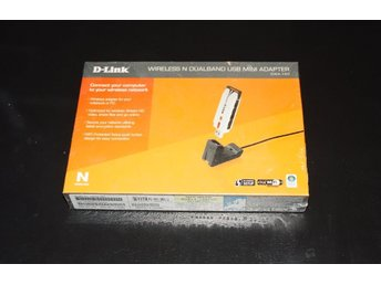 Wireless Dualband USB mini adapter D-Link DWA-160