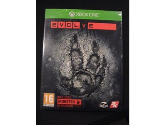 EVOLVE incl. Monster Expansion Pack / XBOX ONE / NYTT & INPLASTAT