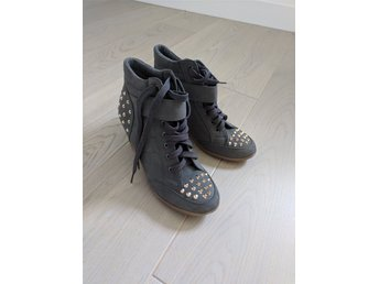 Studded wedge sneakers 39