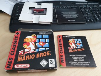 Super Mario Bros - NES Classic Nintendo Game Boy Advance