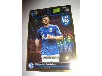 Panini Adrenalyn XL FIFA 365 - Limited Edition - KLAAS-JAN HUNTELAAR - Schalke