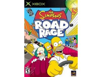 The Simpsons: Road Rage - Xbox