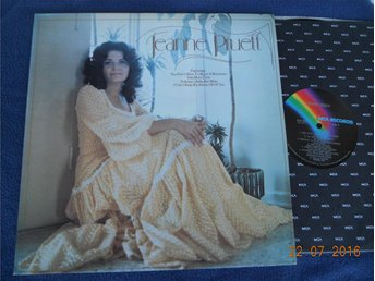 JEANNE PRUETT - S/T, LP MCA USA 1974 Export Copy