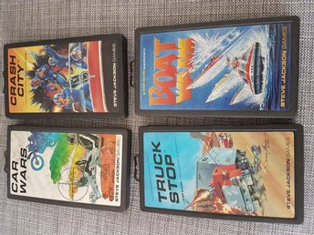 Steve Jackson games: Car wars med Crash city, Truck stop och Boat wars