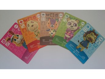 Animal Crossing Amiibo Cards series 4 Nr 316 - 320