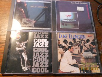 4 CD - Oscar Peterson Duke Ellington Cool Jazz Max Roach/Art Blakey