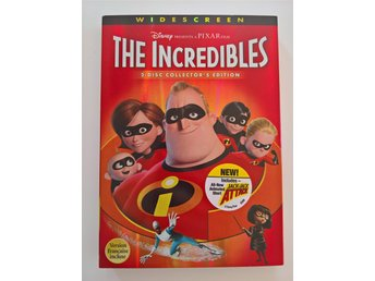 The Incredibles, Collector's Edition 2-disc DVD (R1 NTSC)