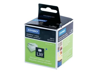 DYMO LW Standard Address labels - Med-Hi Volume, 28x89mm, 2x260 etiket