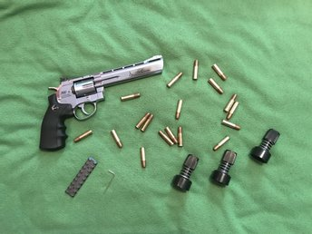 Dan Wesson 6mm Silver,Airsoft!