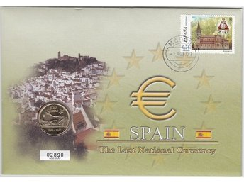 Myntbrev Spanien i Serien The Last National Currency