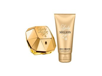 Paco Rabanne Lady Million Gift Set: EdP 50ml & Body Lotion 75ml