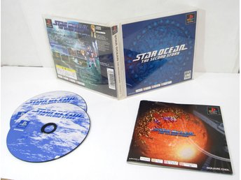 Star Ocean The Second Story till japanskt playstation ps1