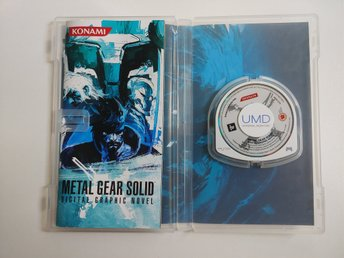 PSP, Metal Gear Solid : Digital Graphic Novel.