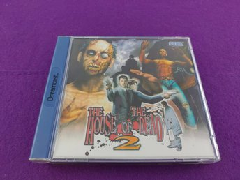 SEGA Dreamcast The House Of Dead 2 Komplett Mycket Fint Skick