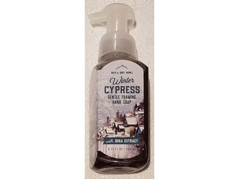 WINTER CYPRESS Bath & Body Works Gentle Foaming Hand Soap skumtvål USA vinter