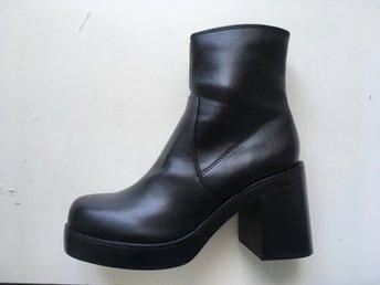 Stövletter, platå, stövlar, boots, skor, Topshop, strl 38