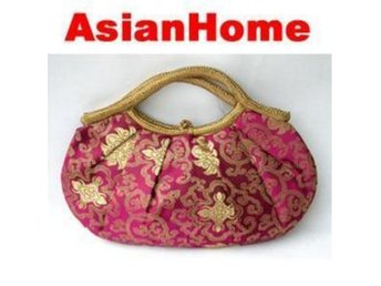 *AsianHome* NY! Japanska Embroided Satin Handväskor (b15)