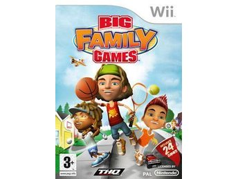Big Family Games Nintendo WII NY! INPLASTAD!