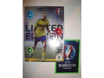 Panini Adrenalyn XL EURO 2016 Limited Edition XXL - JOHN GUIDETTI - Sverige