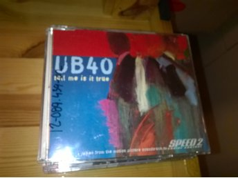 UB40 - Tell Me Is It True, CD
