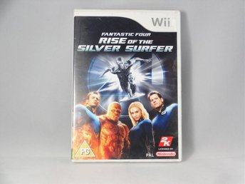 FANTASTIC FOUR 4 RISE OF THE SILVER SURFER / Wii