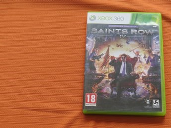 Saints Row IV 4 Commander in Chief Edition - XBOX 360