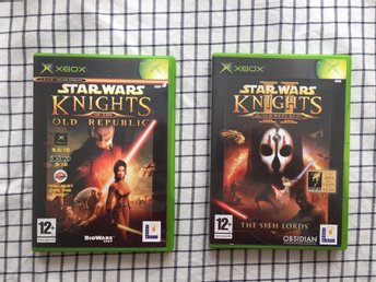 Star Wars: Knights of the old Republic 1 och 2 XBOX