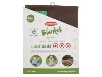 REA! Best Friend Insect Shield Filt S 90x70cm Brun