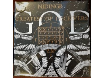 "Nidingr ""Greatest of decivers""LP"
