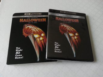 HALLOWEEN (4K Ultra HD HDR) [1978] John Carpenter, Jamie Lee Curtis (+ Slipcase)