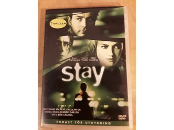 DVD/film: Stay, med Ewan McGregor, Naomi Watts och Ryan Gosling