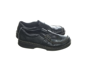 Rieker, Loafers, Strl: 40, Svart, Skinnimitation
