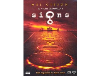 Signs 2002 DVD Mel Gibson Sci-fi